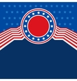 United states color abstract flat background vector image