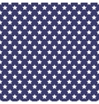 Patriotic white and blue geometric seamless vector image