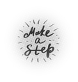 motivational lettering vector image