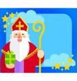 Sinterklaas flat design vector image