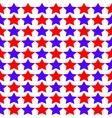 Seamless Star Monochrome vector image