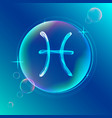 Horoscope abstract color sign of the zodiac - vector image vector image