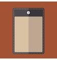 Purple vintage badge vector image vector image