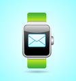 Smart Watch in vector image