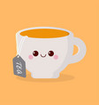 cute cartoon cup vector image