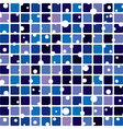 abstract tile background vector image