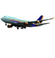 al 0415 plane 03 vector image