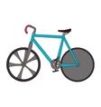 bicycle bike vehicle sport vector image