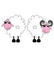 Sheep and ram cartoon art vector image
