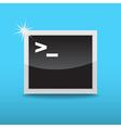 Terminal icon vector image