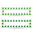 Saint Patricks day banners vector image vector image