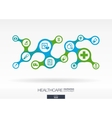 Healthcare Growth abstract background with vector image
