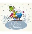 Christmas sheep vector image vector image