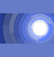 blue modern circles copy space abstract background vector image