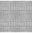 Canvas material black and white seamless pattern vector image
