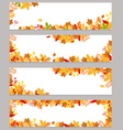 Autumn banners vector