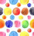 Seamless graphic pattern of different colored akva vector image