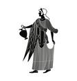 ancient greek goddess aphrodite vector image