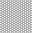 seamless honeycomb vector image