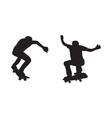 Skateboarder Silhouette vector image