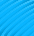 Blue soft abstract waves - background vector image