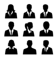 Business Avatars Set vector image