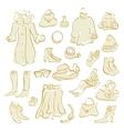 Women Clothes Set vector image
