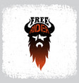 free rider label vector image vector image