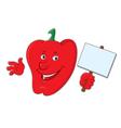 cartoon bell pepper vector image