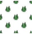 canadian spruce canada single icon in cartoon vector image