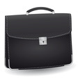 lack briefcase for the businessman vector illustra vector image
