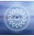 Mandala Sea background vector image vector image