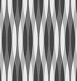 Black White and Gray Wavy Background vector image vector image
