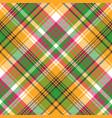 Colors madras plaid textile texture seamless vector image