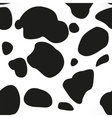 Abstract seamless cow blotchy skin background vector image