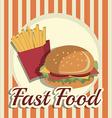 Food digital design vector image