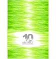 green summer grass background vector image