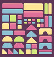 bulding toy blocks for stack tower game for kids vector image