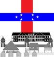 Netherlands Antilles vector image