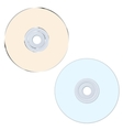CD compact disk vector image