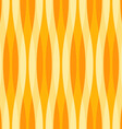 Yellow and Orange Abstract Wavy Background vector image vector image