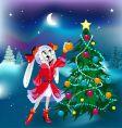 new year rabbit girl vector image