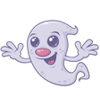 Cute Retro Ghost vector image vector image
