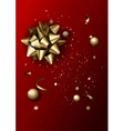 Luxury abstract background template with confetti vector image vector image