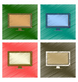 assembly flat shading style icon computer monitor vector image