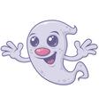 Cute Retro Ghost vector image