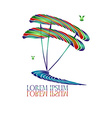 Surfing Logo3 vector image