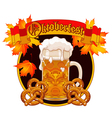 Oktoberfest Celebration design vector image vector image