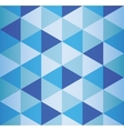 Abstract 3d geometricbroken glass lines modern vector image