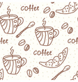 coffeepot vector image